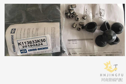 Knorr Bremse K113633K50/K000945 brake caliper adjuster cap cover set kit