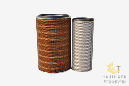 Pingyuan KLX-952/953 air filter for Weichai Deutz YTO 6105 diesel Engine parts