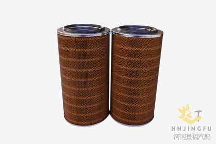 Pingyuan KLX-898/899/K2850/AF25452/AF25453 air filter for yutong