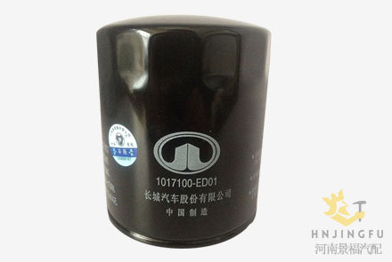 Pingyuan JLX-352F/1017100-ED01 lube oil filter for Greatwall truck