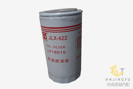 JLX-422/LF16015/1399494/4897898/JX0814E lube oil filter replacement for Cummins engine