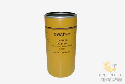 JX-6158/CAT 5I-7950/5I7950/LF17335 lube oil filter for excavator parts