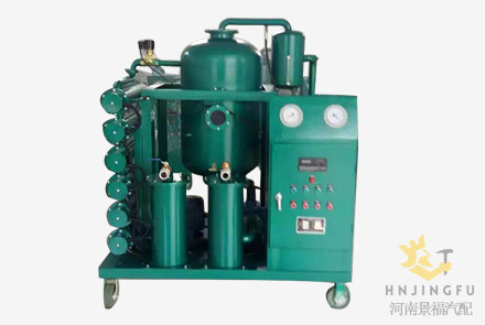 Vacuum hydraulic oil water separator cleaning filter filtration system purifier machine