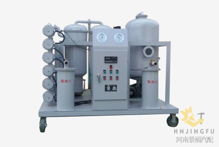 fuel waste oil recycle recycling kerosene particulate filter refinery machine