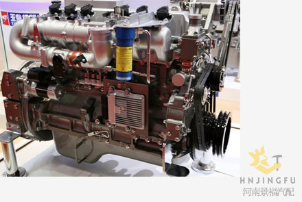 Vertical Yuchai YC6G230N-50 LNG CNG natural gas fuel engine assembly